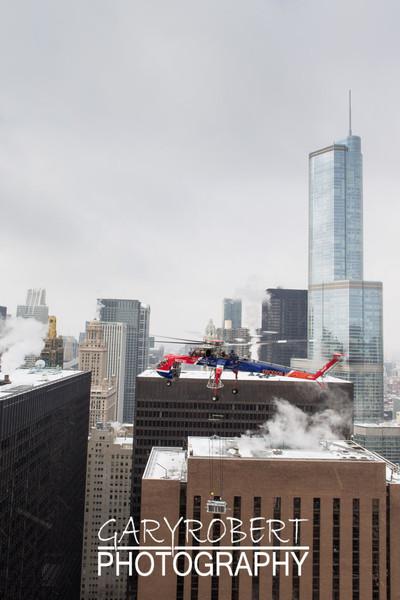 Erickson Air Crane - Sun Bird in Chicago