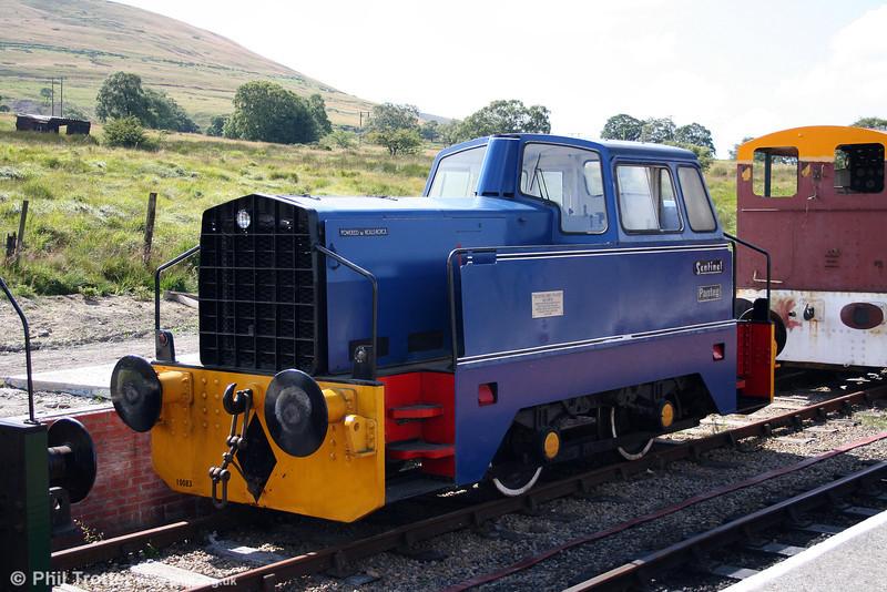 Former British Steel Panteg Sentinel 4wDH (10083/1961) 'Panteg' at the Pontypool & Blaenavon Railway on 26th July 2008.