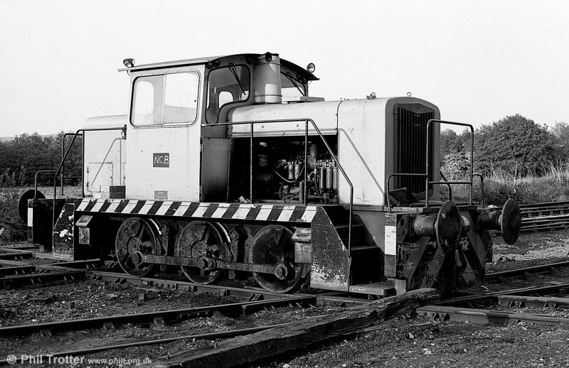 British Coal English Electric 0-6-0DH no. D1139/1966 at Wernos Coal Preparation Plant in April 1988.
