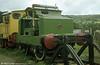 Motor Rail Simplex 4wPM (2098/1924) 'Rachel' at the Lakeside & Haverthwaite Railway in August 1978.