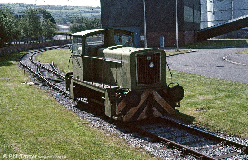 A third view of English Electric 0-4-0DH no.1205 of 1967 at Clydach Mond works on 2nd June 1985. The Mond was served by a branch off the Swansea District Line from Felin Fran which last saw traffic in the early 1990s.