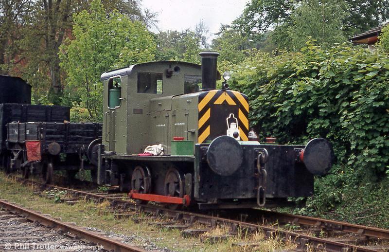 John Fowler 0-4-0DM (4000007/1947) at the Llangollen Railway.