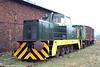Hunslet Engine Company (D7063/1971) 0-8-0DH no.170 'Ebbw', ex-Ebbw Vale Steelworks at the Pontypool & Blaenavon Railway on 26th March 2005.