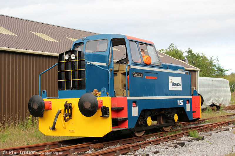 Sentinel 4wDH (10222/1965) 'Peter J Griffiths' in action at Cynheidre, L&MMR, on 23rd July 2012
