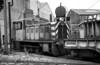 North British 0-4-0DH (27654/1956) at British Steel's Landore Foundry, Swansea in 1981.
