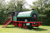 A more recent view of former Brynlliw Colliery Peckett 0-6-0ST (2114/1951) at Kidwelly Industrial Museum on 5th June 2010.
