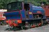 Bagnall 0-6-0ST (2682/1942) 'Princess' at the Lakeside & Haverthwaite Railway in September 1978.