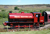 RSH 0-6-0ST (7169/1944) in profile at Whistle Inn, P&BR on 20th June 2010.