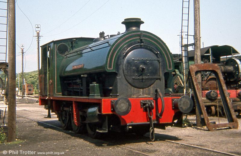 Bagnall (2668/1942) 0-6-0ST 'Cranford No.2' at Steamtown, Carnforth.