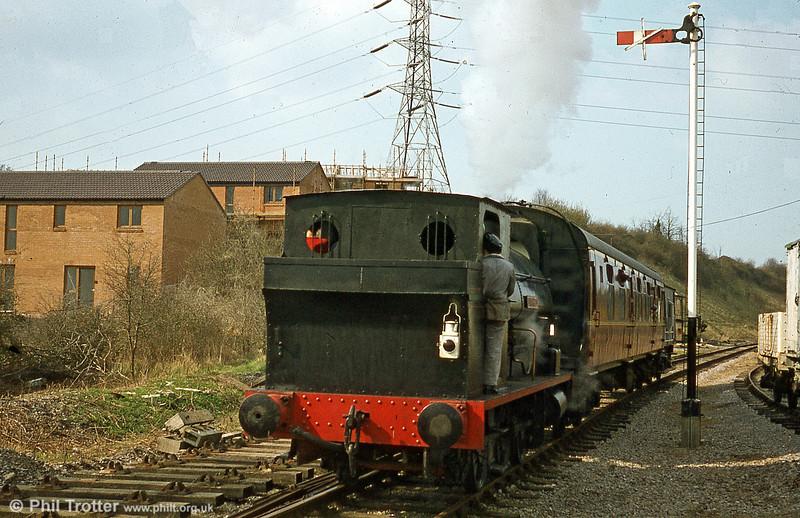 Avonside 0-6-0ST (1798/1918) 'Edwin Hulse' at work on the Avon Valley Railway.