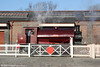 Hunslet (1873/1937) 0-6-0ST 'Jessie' at Hood Road, Barry during a Santa Special steaming on 3rd December 2011.