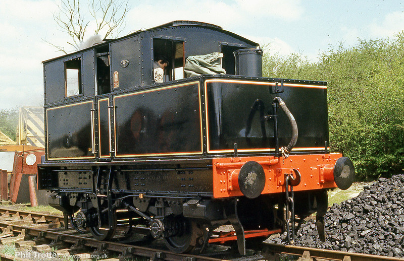 Sentinel 4WVBTG (6515/1926) which operated briefly for the GWR at Quainton Road in May 1985.