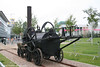The original Penydarren locomotive was never preserved, but this full-sized working replica was built by the then Welsh Industrial & Maritime Museum in 1981. The replica engine is owned by the National Museums and Galleries of Wales and is seen at the National Waterfront Museum, Swansea on 1st June 2008.