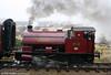 Bagnall 0-4-0ST (2962/1950) No. 19 in profile at the Pontypool & Blaenavon Railway on 20th December 2009.
