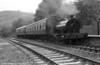 RSH 0-4-0ST 'Olwen' draws its train into Llwyfan Cerrig, Gwili Railway, during 1988.