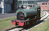 A second view of the Inco Europe Ltd. Peckett 0-4-0ST (1345/1914), 'M.N.C. No.1' at Clydach on 2nd June 1985.