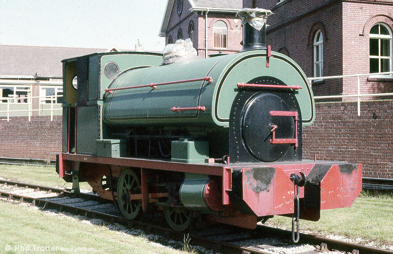 Inco Europe Ltd., formerly owned this Peckett 0-4-0ST (1345/1914), 'M.N.C. No.1' at its Mond, Clydach works. It is seen here on 2nd June 1985.