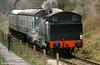 Robert Stephenson Hawthorn 0-6-0T (7151/1944) at the Avon Valley Railway, Bristol in April 1985.