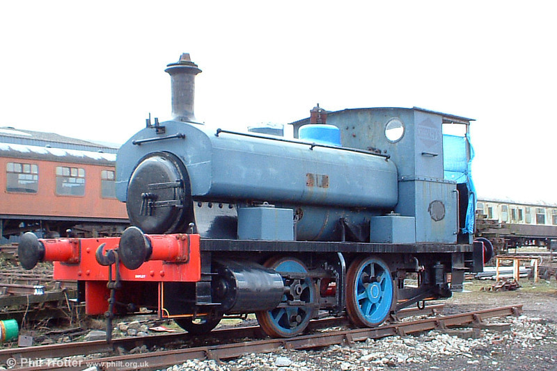 Andrew Barclay 0-4-0ST (1823/1924) 'Harry' at the Pontypool & Blaenavon Railway on 26th March 2005.