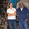Tim and Mary, owners of the Otis Paper Mill and White Granite Quarry