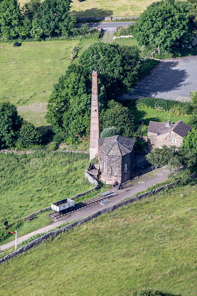 Aerial photo of Middleton Top engine house