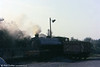 Hunslet 'Austerity' 0-6-0ST Norma (3770/1952) being prepared for its morning's work on 13th September 1977.