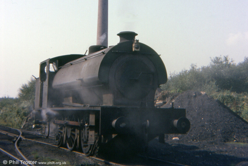 A further Graig Merthyr scene from 13th September 1977, featuring an 'Austerity' 0-6-0ST.