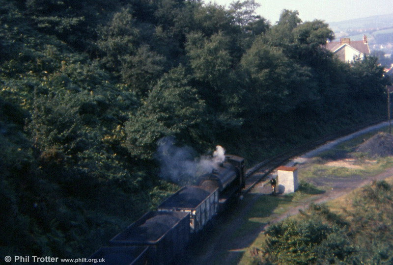 'Norma' heads off towards Pontarddulais on 13th September 1977.