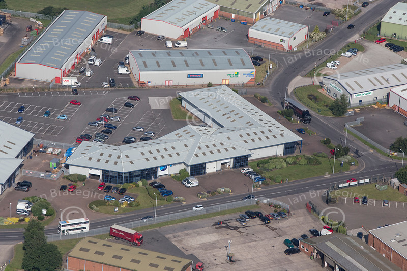 Aerial photo of Newark Industrial-1