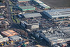 An aerial photo of Newark Industrial Estate in Nottinghamshire.