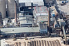 An aerial photo of the sugar factory in Newark, Nottinghamshire.