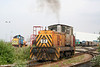 Corus, Port Talbot, 1993 Hunslet Barclay rebuild no. 07 at the Knuckle Yard on 19th June 2010.