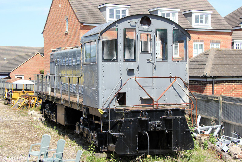 Present at the Cholsey and Wallingford Railway on 26th May 2013 was former Steel Company of Wales (Port Talbot) 803, Alco S-1 Bo-Bo DE No. 77777 (built 1949/50).