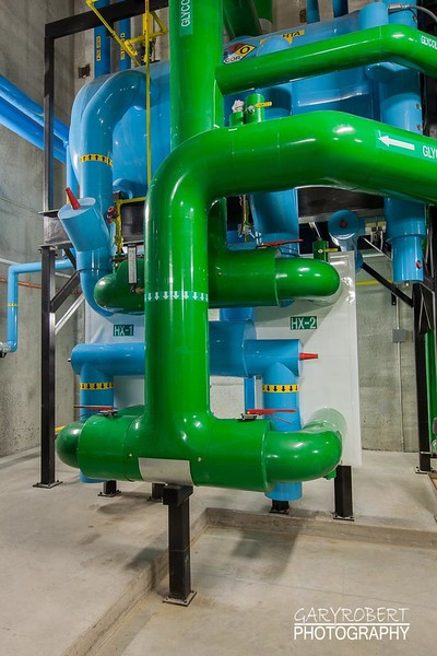 Testa Produce Ammonia Heat Exchanger Piping