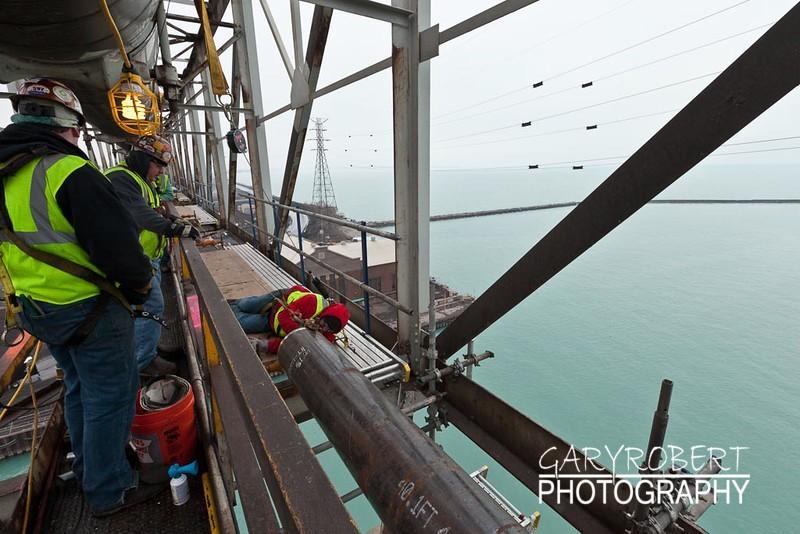 New Pipe on Bridge