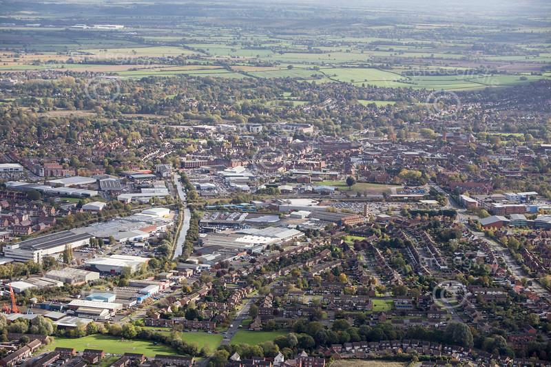 Aerial photos of Stratford Enterprise Park in Stratford upon Avon in Warwickshire.