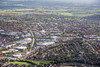Aerial photo of Stratford Enterprise Park in Stratford upon Avon, Warwickshire.