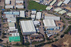 Aerial photo of Telford Way Industrial Estate, Kettering.