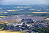 Aerial photo of Thoresby Colliery in Nottinghamshire.