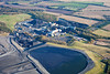 Thoresby Colliery from the air.