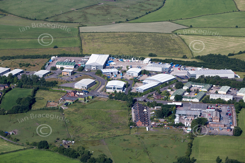 Aerial photo of Victoria Business Park.
