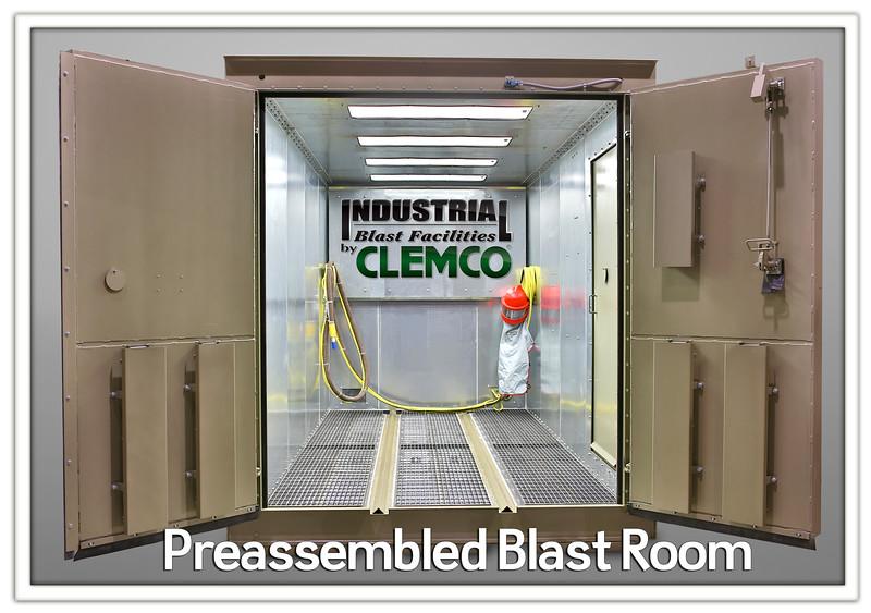 Preassembled Blast Room