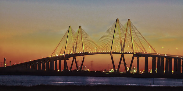 Hartman Bridge at Sunset