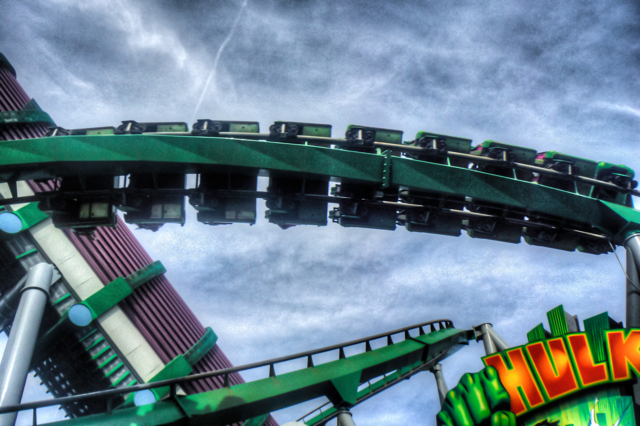 Riding the Hulk