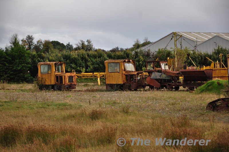 Withdrawn locos at Blackwater Works. Fri 11.10.19