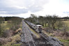 LM422 is about to pass under the R402 road near Croghan Factory. Sat 27.02.10