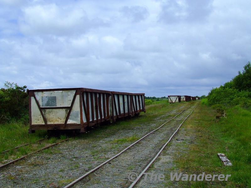 Stored wagons near Boora Works. Sun 21.06.09