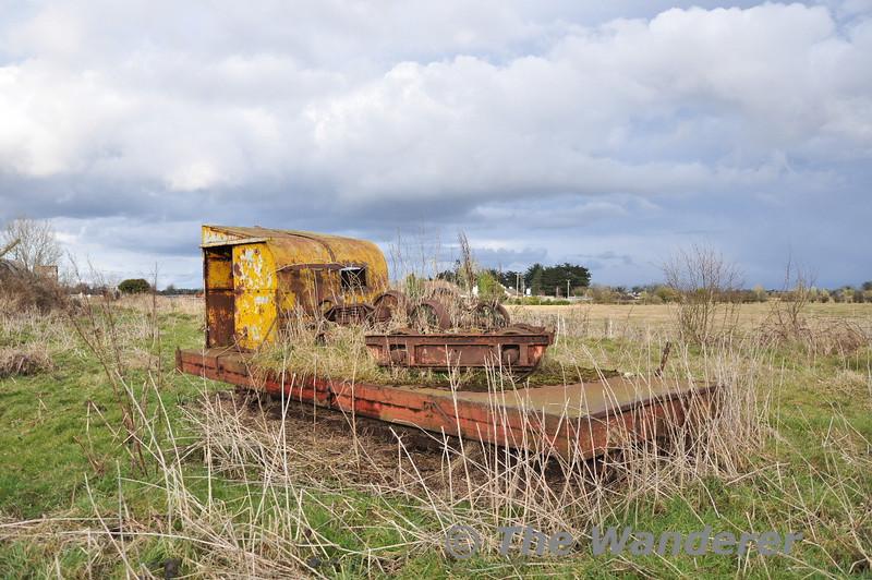 Abandoned vehicle at Cushina. Sat 27.02.10