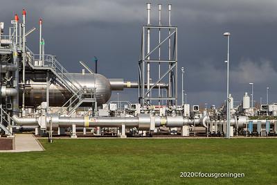 nederland 2020, muntendam, starthandeling stikstoffabriek