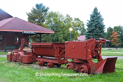Underground Mining Skip and Equipment, Ironwood, Michigan